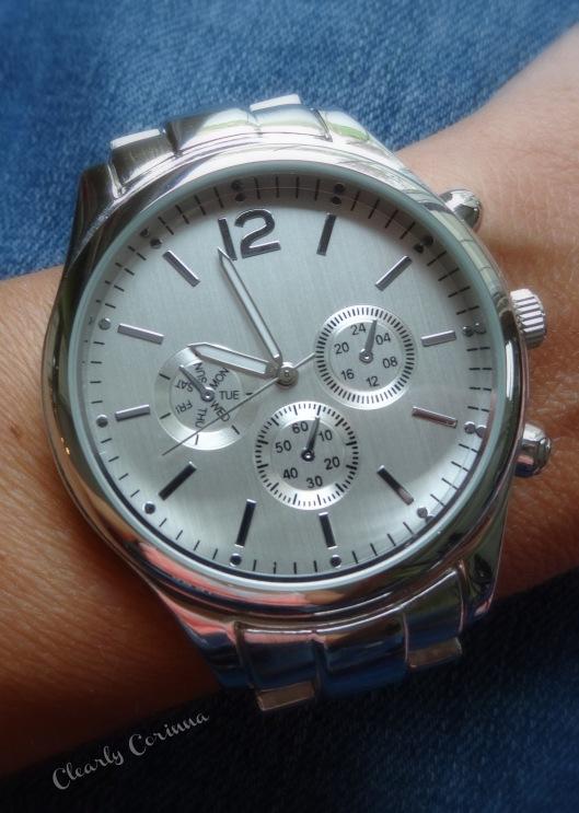 Silver Boyfriend Watch Target